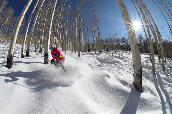 Photo: Casey Day, Skier: Tamara Jacobi, Location: Powderhorn